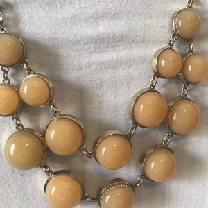 Ann Taylor taupe necklace